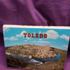 Postales: ALBUM DE 21 POSTALES DE TOLEDO. Lote 293315643
