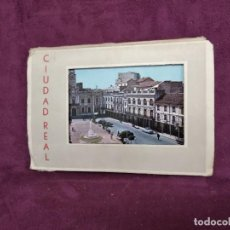 Postales: ANTIGUO LIBRITO CON 8 POSTALES EN ACORDEÓN DE CIUDAD REAL. GARRABELLA. Lote 293365983