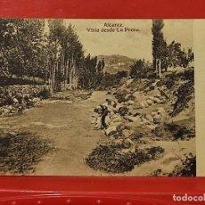 Postales: ALCARAZ PRESA ANIMADA CLICHES PEDRO ROMAN CASA GARCIA ALBACETE SC ORIGINAL. Lote 293931488