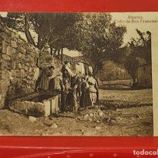 Postales: ALCARAZ CAÑO SAN FRANCISCO ANIMADA CLICHES PEDRO ROMAN CASA GARCIA ALBACETE SC ORIGINAL. Lote 293931603