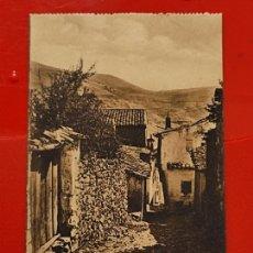 Postales: ALCARAZ CALLEJON ANIMADA CLICHES PEDRO ROMAN CASA GARCIA ALBACETE SC ORIGINAL. Lote 293931708