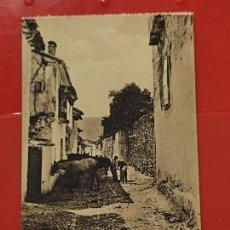 Postales: ALCARAZ CALLE LLANA ANIMADA CLICHES PEDRO ROMAN CASA GARCIA ALBACETE SC ORIGINAL. Lote 293931913