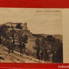 Postales: ALCARAZ ERMITA CORTES CLICHES PEDRO ROMAN CASA GARCIA ALBACETE SC ORIGINAL. Lote 293932188