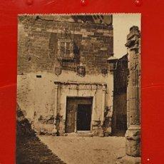 Postales: ALCARAZ CASA SEÑORIAL CLICHES PEDRO ROMAN CASA GARCIA ALBACETE SC ORIGINAL. Lote 293932273