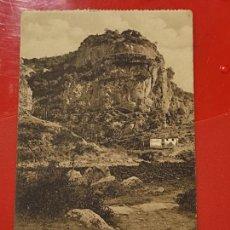 Postales: ALCARAZ EL SANTO CLICHES PEDRO ROMAN CASA GARCIA ALBACETE SC ORIGINAL MANCHADA. Lote 293933883