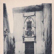 Postales: TOLEDO, POSADA DE LA HERMANDAD. ED. FOTO LAURENT MADRID Nº 45. REVERSO SIN DIVIDIR. SIN CIRCULAR. Lote 294959443