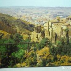 Postales: POSTAL CUENCA-PUENTE S.PABLO Y CASAS COLGADAS. Lote 295383823