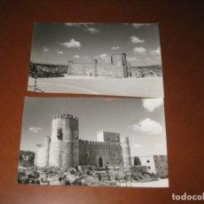 Postales: 2 FOTOGRAFIAS DEL CASTILLO DE SAN SERVANDO. Lote 295445728