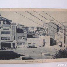 Postales: ALBACETE-PLAZA DEL CAUDILLO-ROISIN-2-POSTAL ANTIGUA-(85.198). Lote 295530163