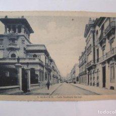 Postales: ALBACETE-CALLE TESIFONTE-ROISIN-5-POSTAL ANTIGUA-(85.201). Lote 295531093