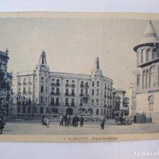 Postales: ALBACETE-PLAZA CANALEJAS-ROISIN-7-POSTAL ANTIGUA-(85.203). Lote 295531143