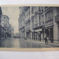 Postales: ALBACETE-CALLE MARQUES DE MOLINS-ROISIN-9-POSTAL ANTIGUA-(85.205). Lote 295531223