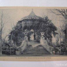 Postales: ALBACETE-KIOSCO DE LOS JARDINES DE LA FERIA-ROISIN-12-POSTAL ANTIGUA-(85.208). Lote 295531588