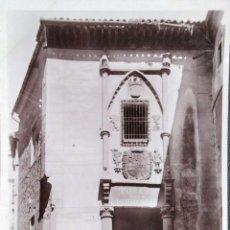 Postales: TOLEDO. 3107 POSADA DE LA HERMANDAD. FOTO LUIS R. ALONSO. EDICIONES UNIQUE. NUEVA. BLANCO/NEGRO. Lote 295565723