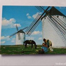 Postales: POSTAL - CAMPO DE CRIPTANA - LA MANCHA - MOLINOS DE VIENTO. Lote 295617978