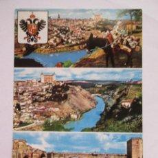 Postales: POSTAL TOLEDO - VISTA GENERAL - ARRIBAS80 - 1971 - SIN CIRCULAR. Lote 295979778