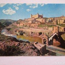 Postales: POSTAL TOLEDO - PUENTE ALCANTARA Y ALCAZAR - FARDI 130 - 1971 - SIN CIRCULAR. Lote 295979893