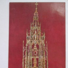 Postales: POSTAL TOLEDO - CATEDRAL - LA CUSTODIA - JULIO DE LA CRUZ 1484 - 1979 - SIN CIRCULAR. Lote 295981488