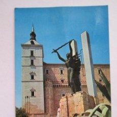 Postales: POSTAL TOLEDO - MONUMENTO AL ANGEL DE LA VICTORIA - JULIO DE LA CRUZ 2020 - 1979 - MARCAS. Lote 295989788