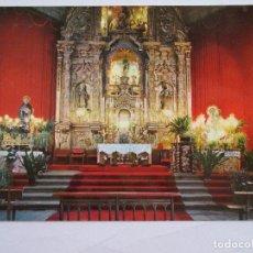 Postales: POSTAL TOLEDO - OROPESA ALTAR MAYOR DE LA PARROQUIA - JFERNANDEZ 12 - 1972 - SIN CIRCULAR. Lote 295990278