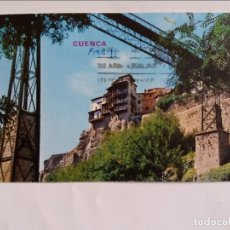Postales: POSTAL - CUENCA - CASAS COLGADAS Y PUENTE DE SAN PABLO. Lote 296637463
