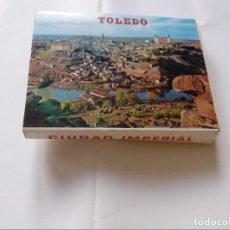 Postales: BLOCK DE 20 POSTALES - TOLEDO - CIUDAD IMPERIAL. Lote 296690293