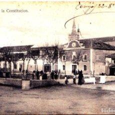 Postales: TORRIJOS (TOLEDO) - PLAZA DE LA CONSTITUCION. Lote 296753228