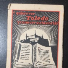 Postales: TOLEDO , EDICIONES CAYON , MADRID , SERIE 7 , 12 POSTALES, COMPLETA.. Lote 297079563