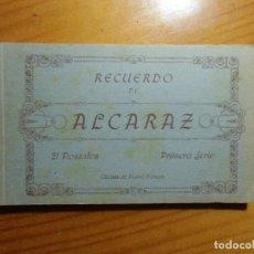 Postales: ALCARAZ(ALBACETE)LIBRILLO CON 17 POSTALES.EDIC.PEDRO ROMAN,SERIE 1ª.. Lote 297092503