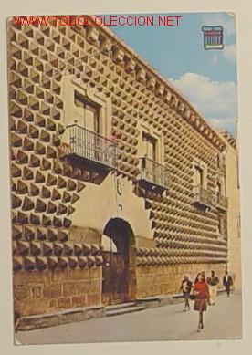 SEGOVIA - CASA DE LOS PICOS - 4189 - CIRCULADA . (Postales - España - Castilla y León Moderna (desde 1940))