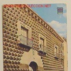 Postales: SEGOVIA - CASA DE LOS PICOS - 4189 - CIRCULADA .. Lote 12717194