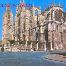 Postales: LEON - LA CATEDRAL (1967). Lote 19231847