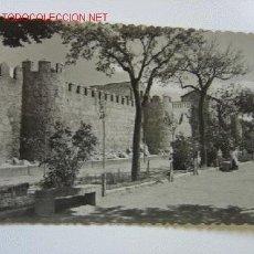 Postales: AVILA JARDINES DEL PASEO DEL RASTRO. Lote 2635869