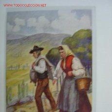 Postkarten - Postal TRAJE REGIONAL ESPAÑOL BURGOS - 445990