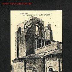 Postales: POSTAL DE SEGOVIA: SAN JUAN DE LOS CABALLEROS: ABSIDE (FOTOTIPIA HAUSER Y MENET). Lote 680412