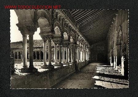 POSTAL DE SORIA: COLEGIATA DE SAN PEDRO. CLAUSTRO (ED.GARRABELLA NUM29) (Postales - España - Castilla y León Antigua (hasta 1939))