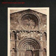 Postales: POSTAL DE SORIA: IGLESIA DE SANTO DOMINGO: PORTADA (ED.E.ALMIRALL NUM. 116). Lote 680515