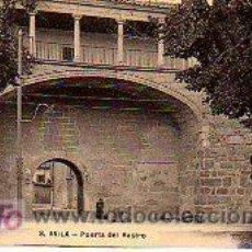 Postales: TARJETA POSTAL DE AVILA-PUERTA DEL RASTRO. Lote 12683111