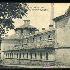 Postales: TARJETA POSTAL DE LA GRANJA, SEGOVIA. FÁBRICA DE CRISTALES. FOTOTIPIA HAUSER Y MENET. - MADRID. Lote 3273890