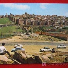 Postales: AVILA, VISTA PARCIAL DE LA CIUDAD AMURALLADA. Lote 3440759
