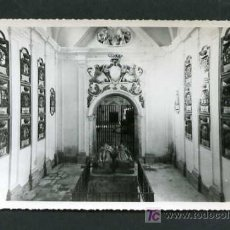 Postales: CASTRILLO DEL VAL *MONASTERIO CISTERCIENSE DE SAN PEDRO DE CARDEÑA. CAPILLA DEL CID CAMPEADOR* NUEVA. Lote 4895011