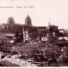 Postales: SALAMANCA - PLAZA DE COLON - EDICIONES UNIQUE. Lote 27442426