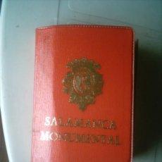 Postales: CARPETA DE POSTALES DE SALAMANCA MONUMENTAL. 20 POSTALES. AÑOS 70 . Lote 5021140