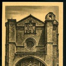 Postales: TARJETA POSTAL AVILA, PORTADA DEL CONVENTO DE SANTO TOMAS Nº 7 ,. Lote 5200282