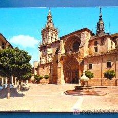 Postales: BURGO DE OSMA. CATEDRAL (SORIA). Lote 18234856