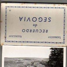 Postales: INTERESANTE BLOQUE DE SEGOVIA-FOTOS ARTISTICAS NºII-DE DOMIGUEZ 1O POSTALES. Lote 13507556