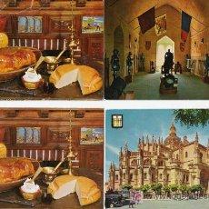 Postales: SEGOVIA BONITO LOTE DE POSTALES ANTIGUAS . Lote 5602019