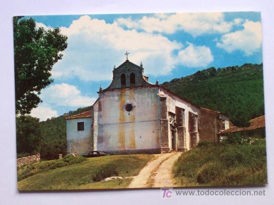 RIAZA (SEGOVIA) ERMITA DE NUESTRA SEÑORA DE HONTANARES - SIN CIRCULAR -HELIOTIPIA ARTÍSTICA ESPAÑOLA (Postales - España - Castilla y León Moderna (desde 1940))