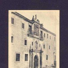 Postales: POSTAL DE SANTO DOMINGO DE SILOS (BURGOS): FACHADA OESTE (HAUSER Y MENET). Lote 5910752