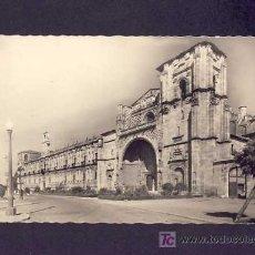 Postales: POSTAL DE LEON: FACHADA PRINCIPAL DE SAN MARCOS (G.GARRABELLA NUM.34?). Lote 5924288